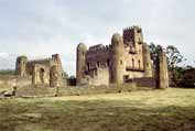 Royal enclosure at Gonder. North,  Ethiopia.
