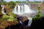 Waterfalls at Blue Nil. Bahar Dar. North,  Ethiopia.