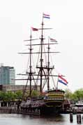 Ship (muzeum( at Amsterdam. Netherlands.