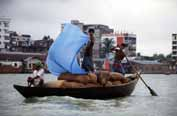 River transport. Dhaka. Bangladesh.