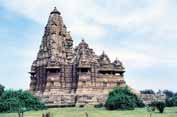 Temple at Khajuraho. India.