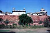 Fortress at Agra. India.