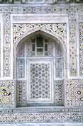 So called small Taj Mahal at Agra. India.