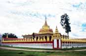 Bawgyo Paya - this temple is built at traditional Shan style. Area around Hsipaw village. Myanmar (Burma).
