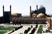 Emam mosque at Emam Khomeini square. Esfahan. Iran.