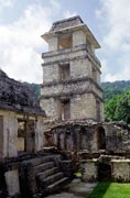 Palace, Palenque. Mexico.