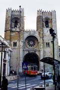 Old Cathedral, Lisbon. Portugal.