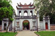 Temple of Literature in Hanoi. Vietnam.