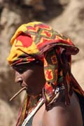 Local woman, Dublock. South,  Ethiopia.
