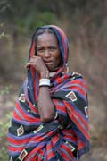 Local woman, around Jinka. Ethiopia.