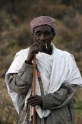Local man, around Jinka. Ethiopia.