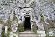 Goa Gajah, the elephant cave. Bali,  Indonesia.
