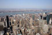 View from Empire State Building, Manhattan, New York. United States of America.