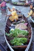 Floating market in Banjarmasin. Indonesia.