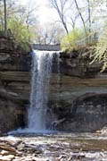 Minehaha waterfall, Minneapolis, Minnesota. United States of America.