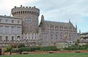Castle at Dublin. Ireland.