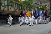 Memorial Day Parade, Chicago. United States of America.