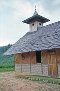 Church at Timbaan village. Tana Toraja area. Indonesia.