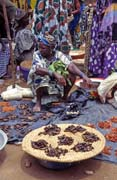 Traditional Monday market, Djenné city. Mali.