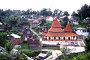 Traditional Minangkabau village near Bukittinggi. Indonesia.