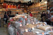 Shop with traditional chinese medicine. Hong Kong.