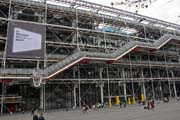 Pompidou Centre, Paris. France.