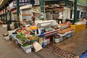 Incheon market. South Korea.