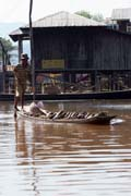 Water transport, Inle Lake. Myanmar (Burma).