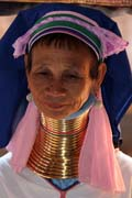 Padaung (long-neck) People, Inle Lake. Myanmar (Burma).