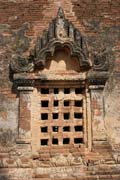 The Temples of Bagan decoration. Myanmar (Burma).