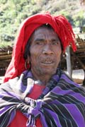 Man from Munn Chin tribe. Kyartho village, Chin State. Myanmar (Burma).