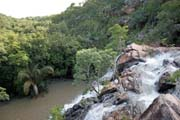 Waterfall near Natitingou town. Benin.