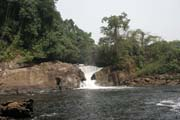 Mana waterfall, Korup National Park. Cameroon.