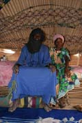 Young marrieds at their house. Air Mountain area. Niger.