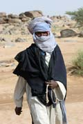 Typical Tuareg. Sahara desert. Niger.