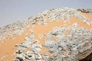Marble mountains - Sahara desert between Air Mountain and Arrakau. Niger.