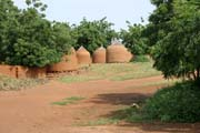 Villages between cities Niamey and Agadez. Niger.