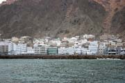 View to Al-Mukalla town. Yemen.