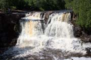 Goosberry Falls, North Shore, Minnesota. United States of America.