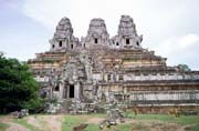 Ta Keo temple - one of the many temples at Angkor Wat temples area. Cambodia.