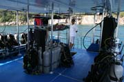 Diving Similan, West Coast Divers liveaboard. Thailand.