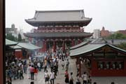 Senso-ji temple at Asakusa district, Tokyo. Japan.