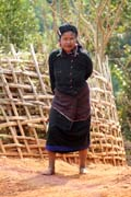 Woman from Eng tribe (sometimes called Ann or black teeth people), area around Kengtung town. Myanmar (Burma).