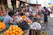 At the market, Sittwe town. Myanmar (Burma).