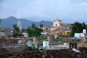 Historical downtown of Trinidad town. Cuba.