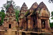 Banteay Srei temple in Angkor Wat area. Cambodia.