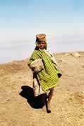 Villager from Simien mountains. Ethiopia.