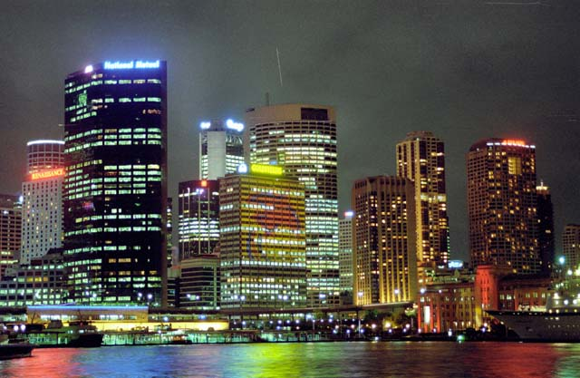 Sydney at night. Australia.