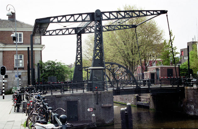 Bridge. Amsterdam. Netherlands.