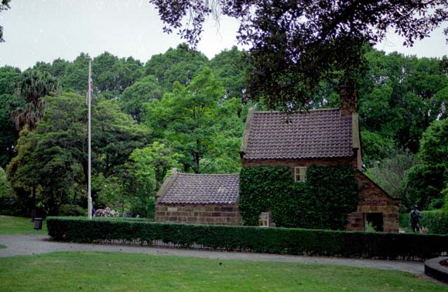 Captain James Cook's house in Melbourne. Australia.